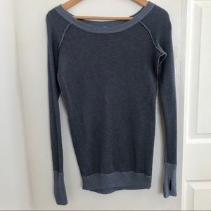 Lululemon | Blue Long Sleeve Tee